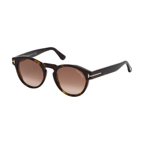 Women's Margaux Sunglasses // Havana + Brown Gradient