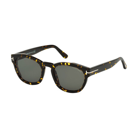Men's Brian Sunglasses // Colored Havana + Gray