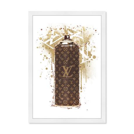 "Glam Spray Gold // Brown (26""H x 18""W x 0.5""D)"