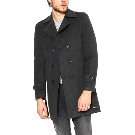 Buffalo Overcoat // Anthracite (Small)