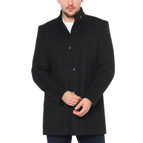 Canyon Overcoat // Black (Medium)