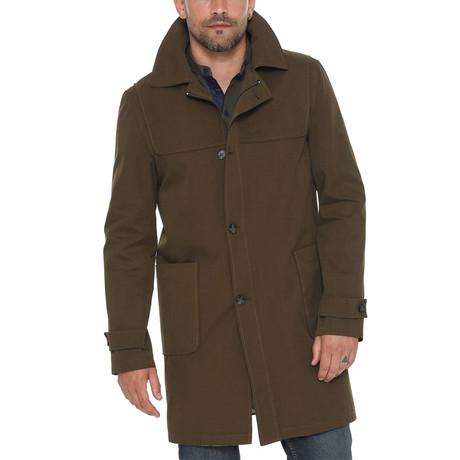 Everest Trench Coat // Khaki (Small)