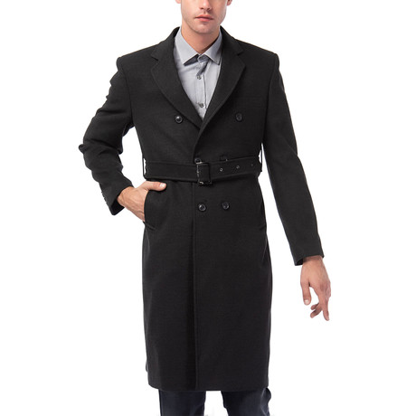 Grand Rapids Overcoat // Anthracite (Small)