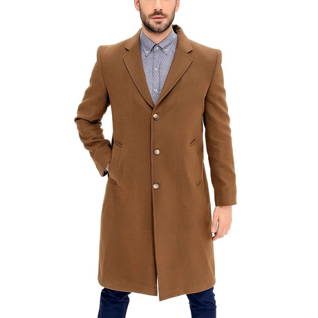 Scarsdale Overcoat // Camel (Small)