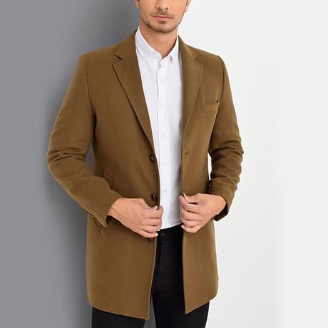Everett Overcoat // Camel (Medium)