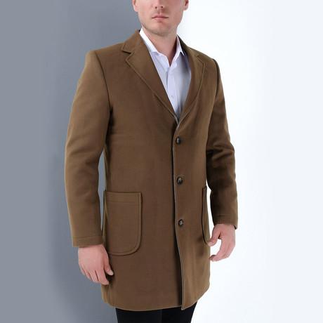 Redmond Overcoat // Camel (Medium)