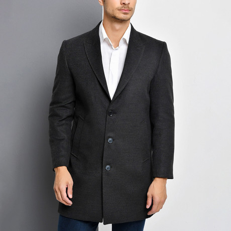 Seattle Overcoat // Anthracite (Small)