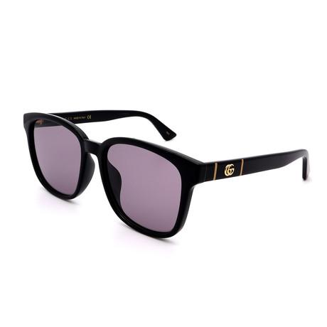 Men's GG0637SK-003 Sunglasses // Black + Gray