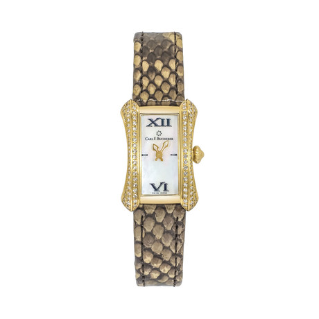 Carl F. Bucherer Ladies Alacria Mini Quartz // 00.10703.01.71.12-S // Store Display