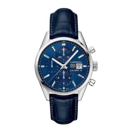Tag Heuer Carrera Chronograph Automatic // CBK2112.FC6291 // Pre-Owned