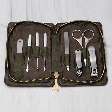 Katana 8-Piece Grooming Kit // Green