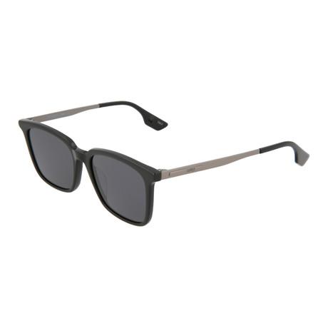 Unisex MQ0070S Square Sunglasses // Black + Gray