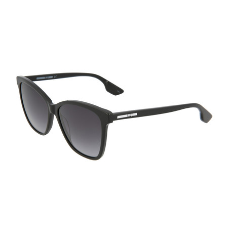 Women's MQ0061S Cat Eye Sunglasses V1 // Black