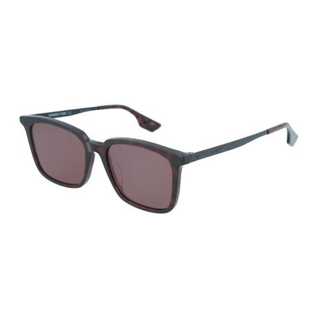 Unisex MQ0070SA Square Sunglasses // Dark Havana