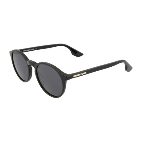 Unisex MQ0039S Round Sunglasses // Black