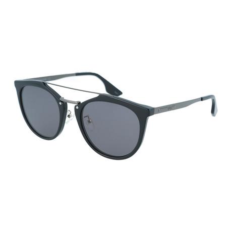 Unisex MQ0037S Round Sunglasses // Black + Ruthenium