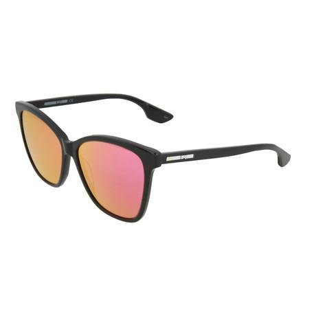 Women's MQ0061S Cat Eye Sunglasses V2 // Black