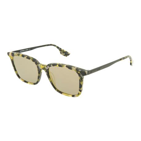 Unisex MQ0070S Square Sunglasses // Yellow Havana