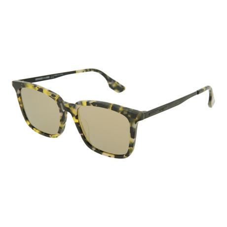 Unisex MQ0070SA Square Sunglasses // Yellow Havana