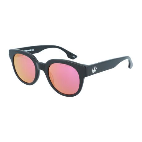 Unisex MQ0068S Round Sunglasses V2 // Black