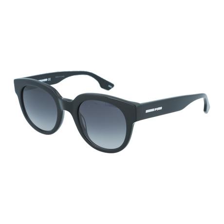 Unisex MQ0068S Round Sunglasses V1 // Black