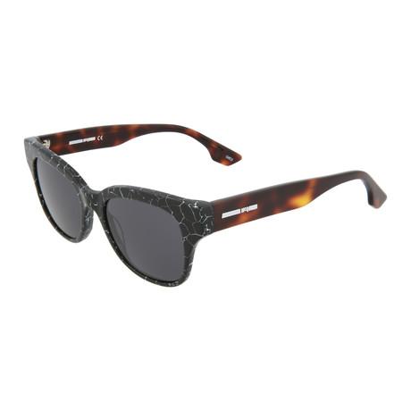 Unisex MQ0067S Square Sunglasses // Gray + Havana
