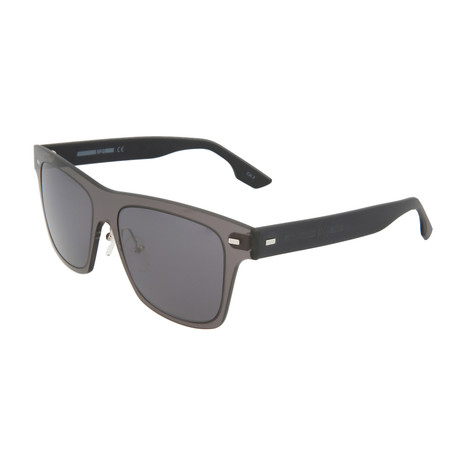 Unisex MQ0008S Square Sunglasses // Gray + Black