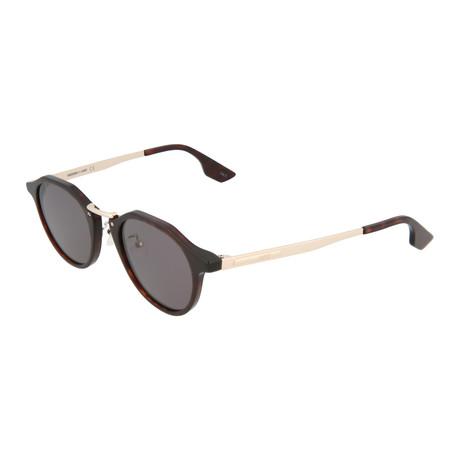 Unisex MQ0036S Round Sunglasses V1 // Havana + Gold
