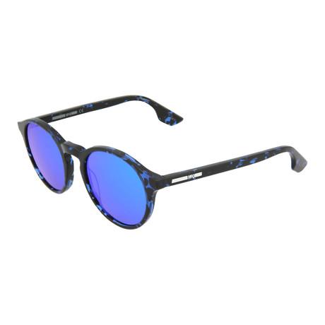 Unisex MQ0039S Round Sunglasses // Blue