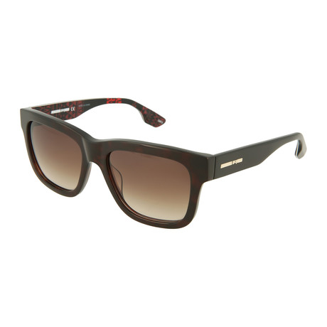 Unisex MQ0044S Square Sunglasses // Havana + Brown