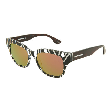 Unisex MQ0067S Square Sunglasses // Black + Havana + Orange