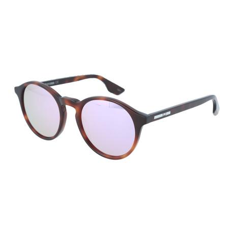 Unisex MQ0039S Round Sunglasses // Havana
