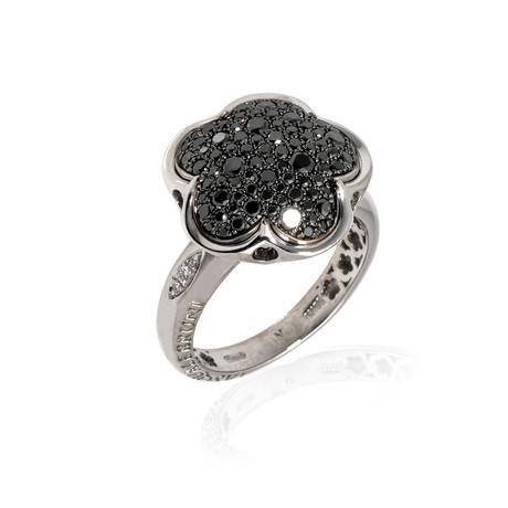 Pasquale Bruni Bon Ton 18k White Gold Diamond Ring // Ring Size: 6.25 // Store Display