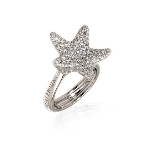Pasquale Bruni Stella Nascente 18k White Gold Diamond Ring // Store Display (Ring Size: 6.75)