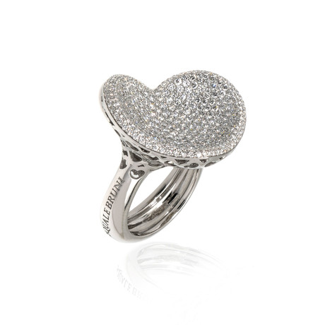 Pasquale Bruni In Love 18k White Gold Diamond Ring // Ring Size: 6.25 // Store Display