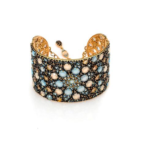 Pasquale Bruni Mandala 18k Rose Gold Ruby Bracelet // Store Display
