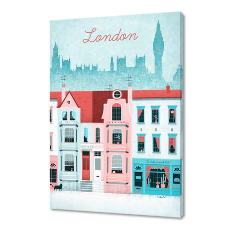 """London Street (16""""W x 24""""H x 1.5""""D)"""