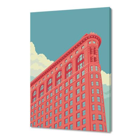 "Flatiron Building 2 (16""W x 24""H x 1.5""D)"