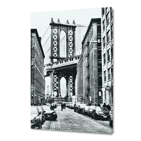 "Dumbo New York (16""W x 24""H x 1.5""D)"
