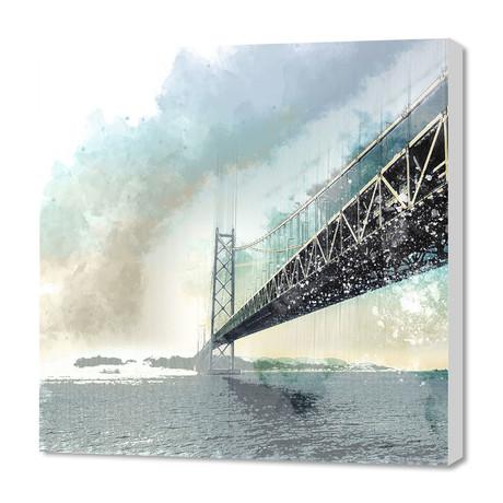 """San Francisco - Bay Bridge (16""""W x 24""""H x 1.5""""D)"""