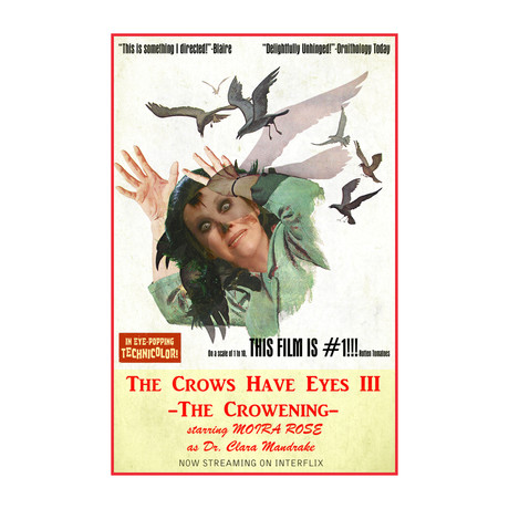 """The Crowes Have Eyes III (11""""W x 14""""H)"""