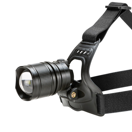 1500 Lumen Rechargeable High Output Headlamp