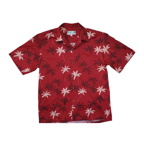 Palm Shirt // Red (Small)