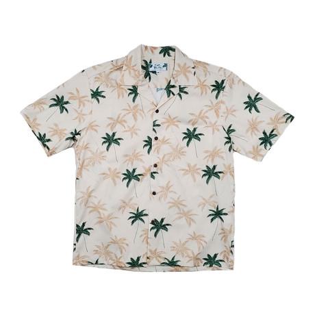 Palm Shirt // Cream (Small)