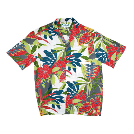 Tropical Forest Shirt // Cream (Small)