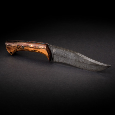 Scythian Handmade Damascus Steel Knife