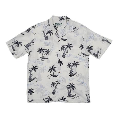 Islands Shirt // White (Small)