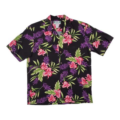 Orchid Fern Shirt // Black (Small)