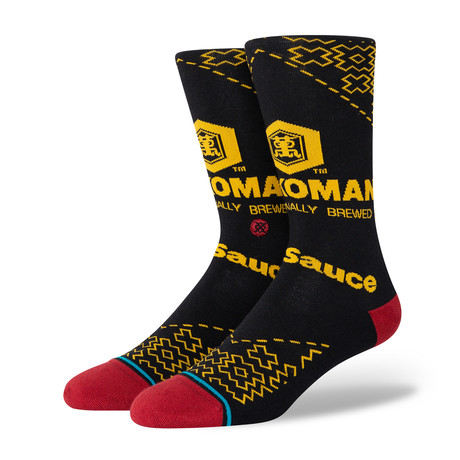 Kikkoman Socks // Black (M)