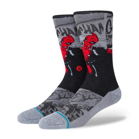Deadpool Socks // Black (M)